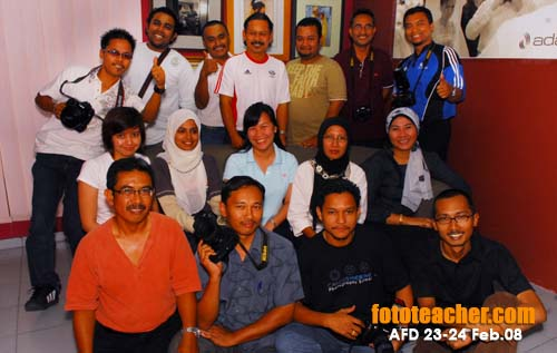 kursus AFD di Fototeacher Learning Centre,Cheras.